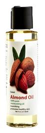 Natural Sweet Almond Oil, 4 oz.