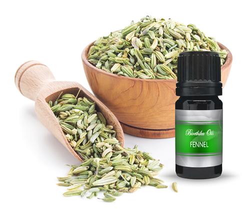 Fennel  Essential Oil, 5 ml. Distilled from Biodynamically Grown Plants