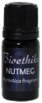 Ecocert Steam Distilled Nutmeg Essential Oil, 5 ml.